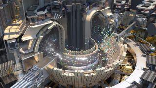 Simulación visual del funcionamiento del ITER