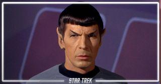 Leonard Nimoy as Spock in 'Star Trek'