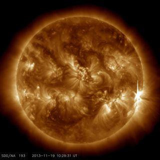 X1 Solar Flare: Nov. 19, 2013