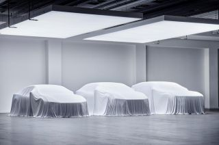 Polestar 3, 4 and 5 silhouettes