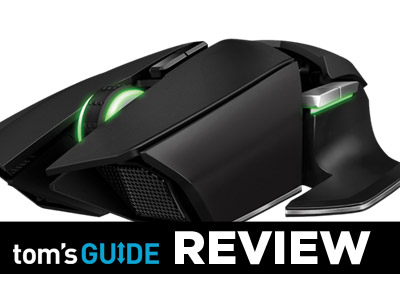 6a9c8c7f3cc The Razer Ouroboros is near the top of the heap when it comes to  customizability, but it sacrifices comfort at every turn.