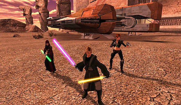 Star Wars: Knights of the Old Republic gameplay