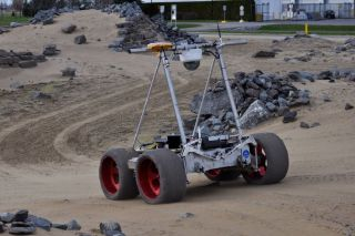 Neptec's Juno Rover for Mars Exploration