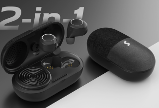 Vissle's new Music Pill: true wireless headphones and Bluetooth speaker in the charging case