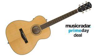 Fender PM-TE travel acoustic guitar Musician's Friend deal