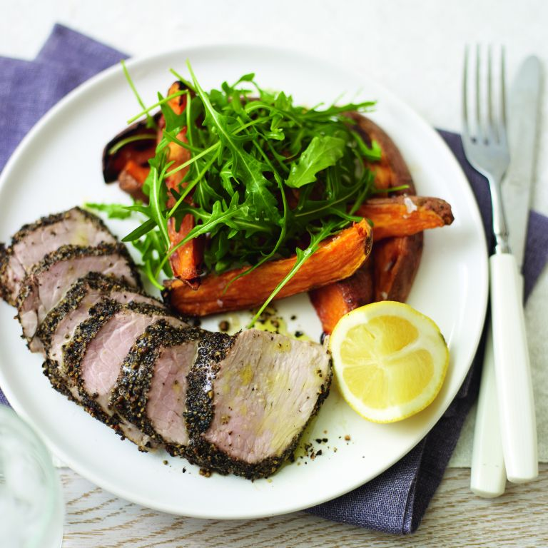 Herbed Loin of Lamb with Mint Sauce recipe-Lamb recipes-recipe ideas-new recipes-woman and home