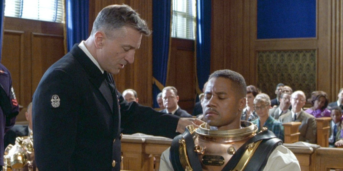 Robert De Niro and Cuba Gooding Jr. in Men of Honor