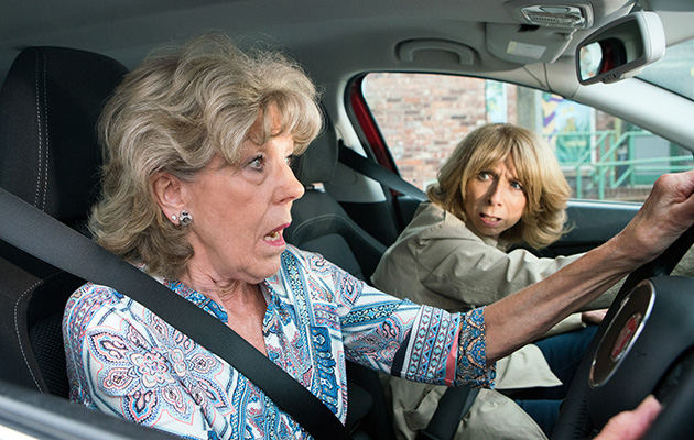 Audrey Roberts and Gail Platt are drawn into Kayla's dark scheme to dupe Craig