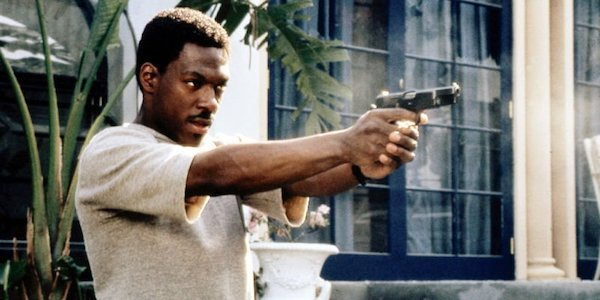 Eddie Murphy as Axel Foley in Beverly Hills Cop