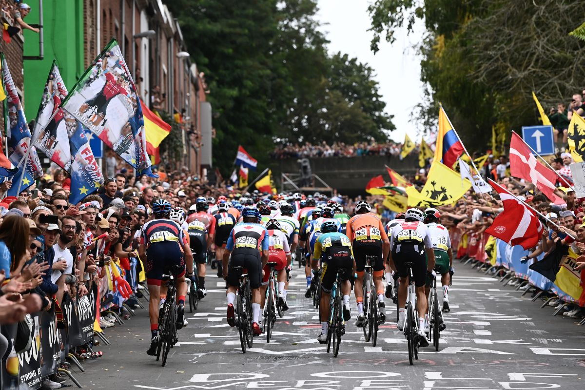 Road World Championships 2021: Strava data shows brutality of race around Flanders