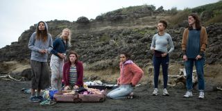 The Wilds cast in New Zealand
