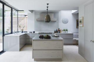 a handleless kitchen design by mowlem & co