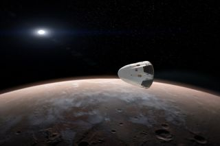 SpaceX Dragon concept art