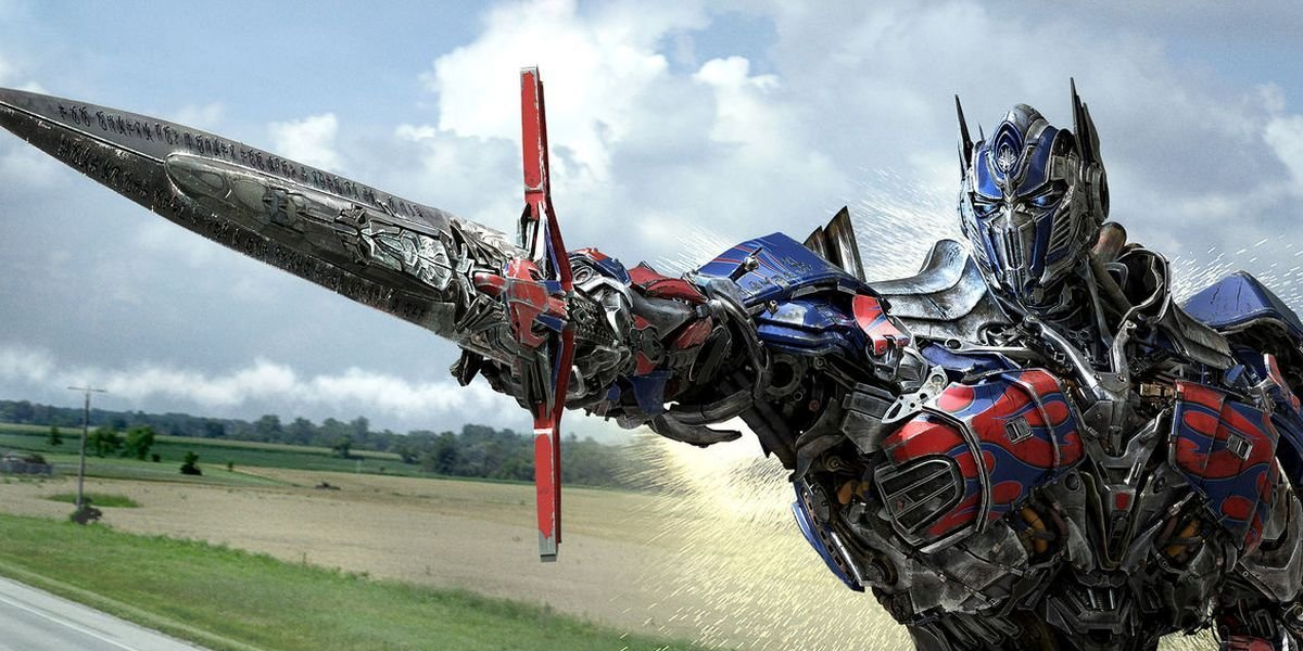 Optimus Prime in Transformers Age of Extinction