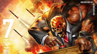 Five Finger Death Punch And Justice For None album cover