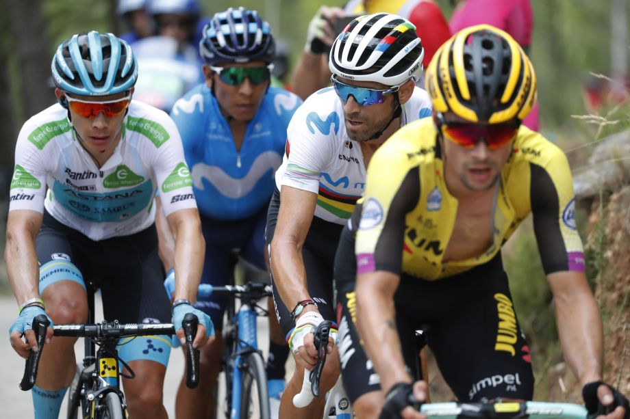 At the halfway point of the Vuelta a España 2019, here's who the bookies think will win the red jersey