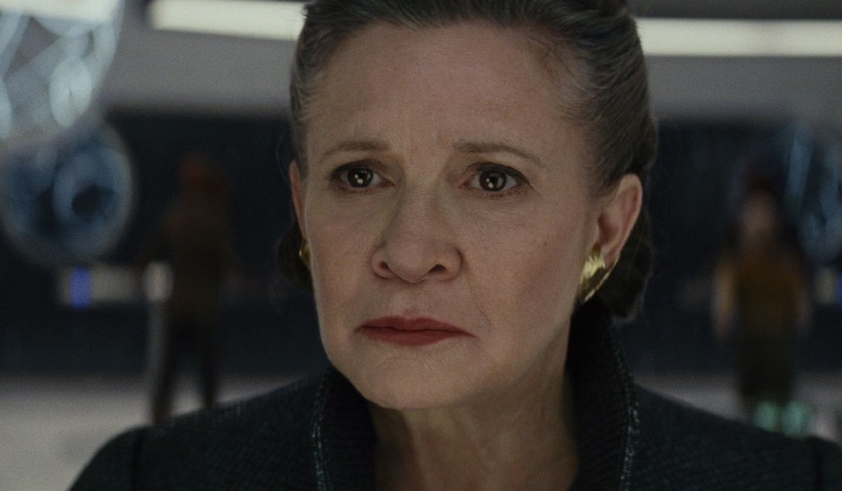 The Last Jedi Carrie Fisher