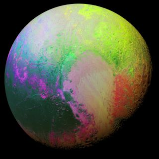 False-color Image of Pluto