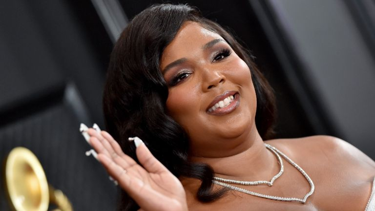 Lizzo at the 62nd annual GRAMMYS in 2020