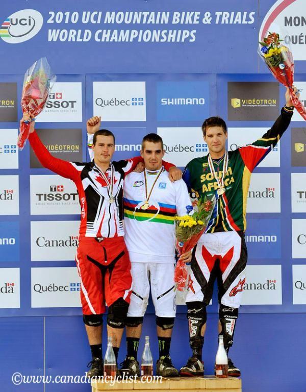 UCI Mountain Bike World Championships 2010: Elite men downhill ...