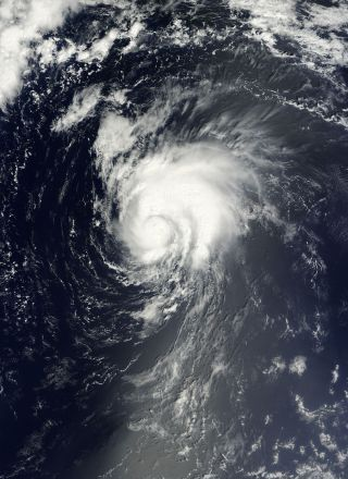 Tropical Storm Gordon satellite image