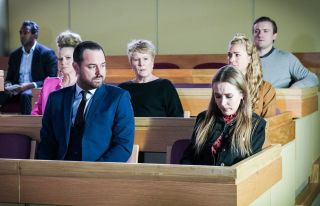 The Carters are in court in EastEnders