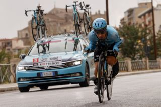 Giro d'Italia 2020 - 103th Edition - 1st stage Monreale - Palermo 15,1 km - 03/10/2020 - Miguel Angel Lopez (COL - Astana Pro Team) - photo Luca Bettini/BettiniPhoto©2020