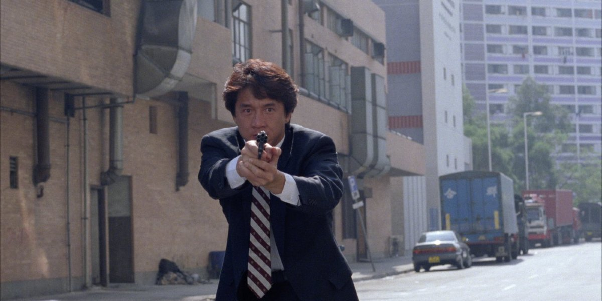 Jackie Chan in Crime Story