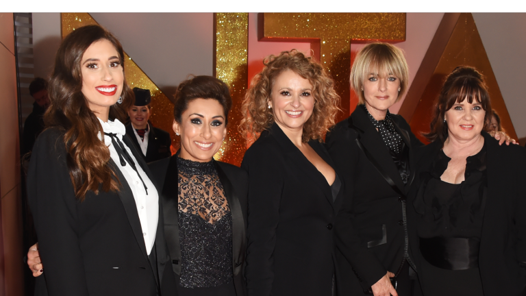 Saira Khan with her Loose Women co-stars
