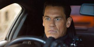 Jakob Toretto (John Cena) drives a car in F9