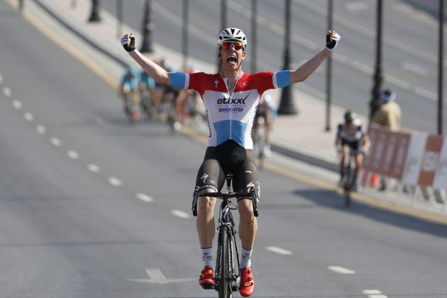 Bob Jungels wins stage one of the Tour of Oman 2016