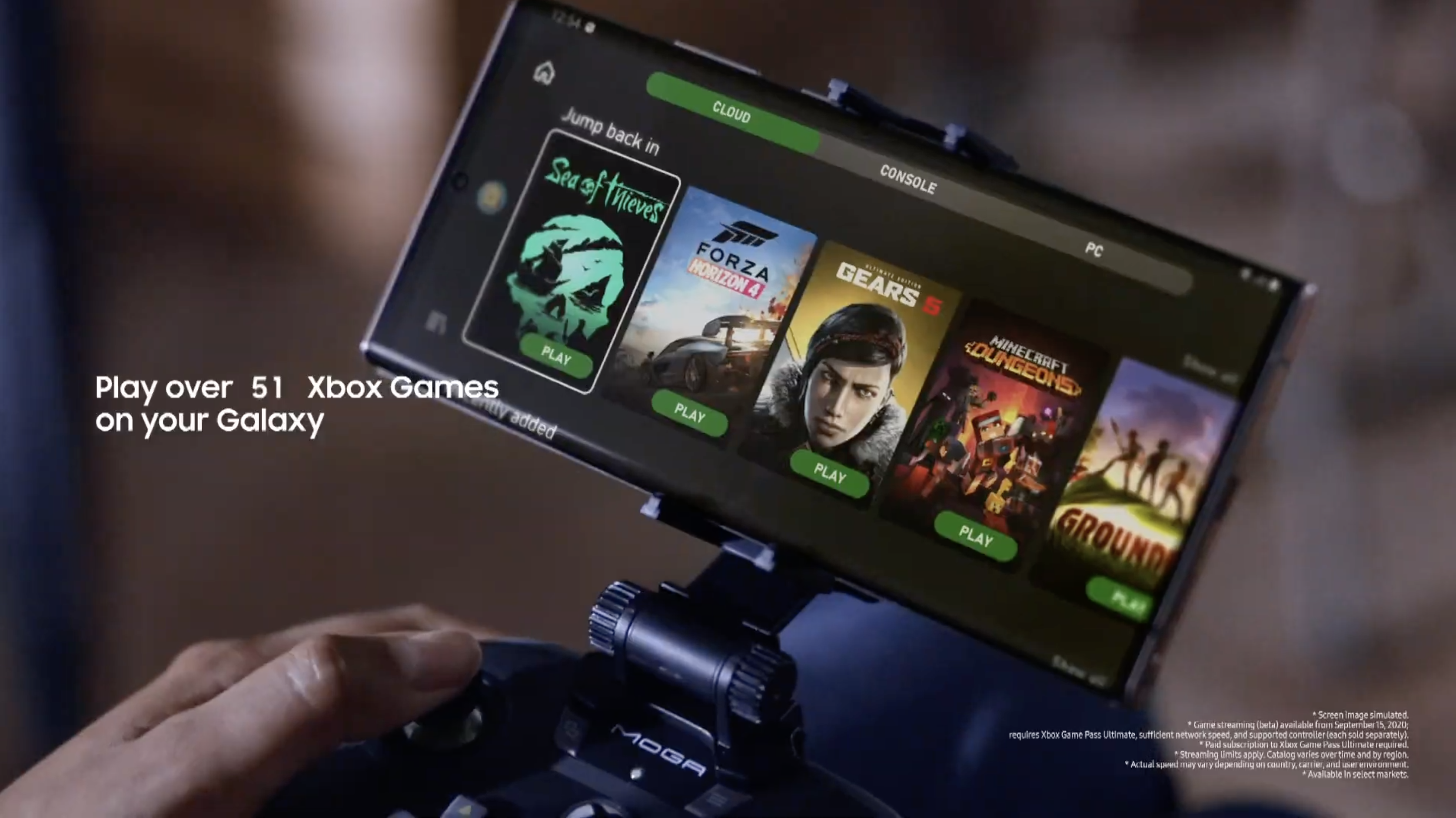 Samsung Galaxy Note 20 and Xbox Game Pass — what you get and how it works |  Tom's Guide