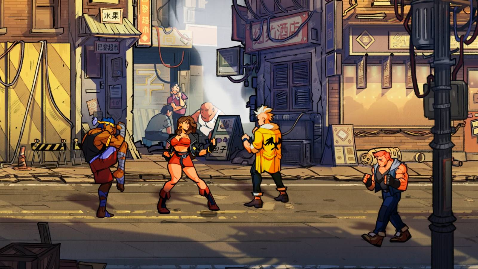 Streets Of Rage 4 Gets A Release Date And There S A Retro