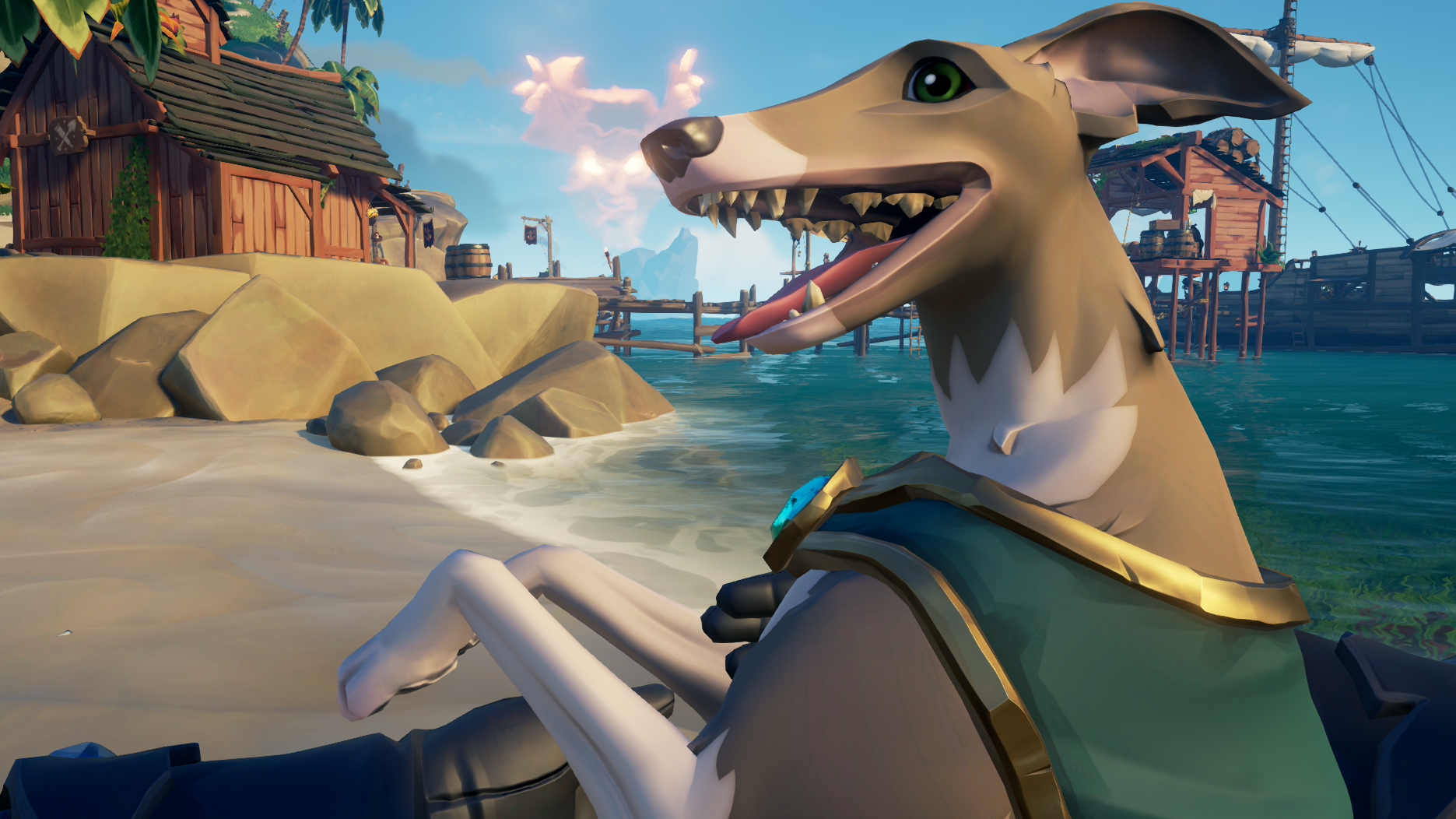 Sea of Thieves adds dogs and some other stuff, but mainly dogs