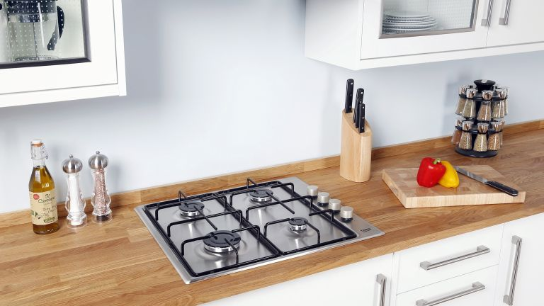 a model of the Nuwave Induction Cooktop in a kitchen setting