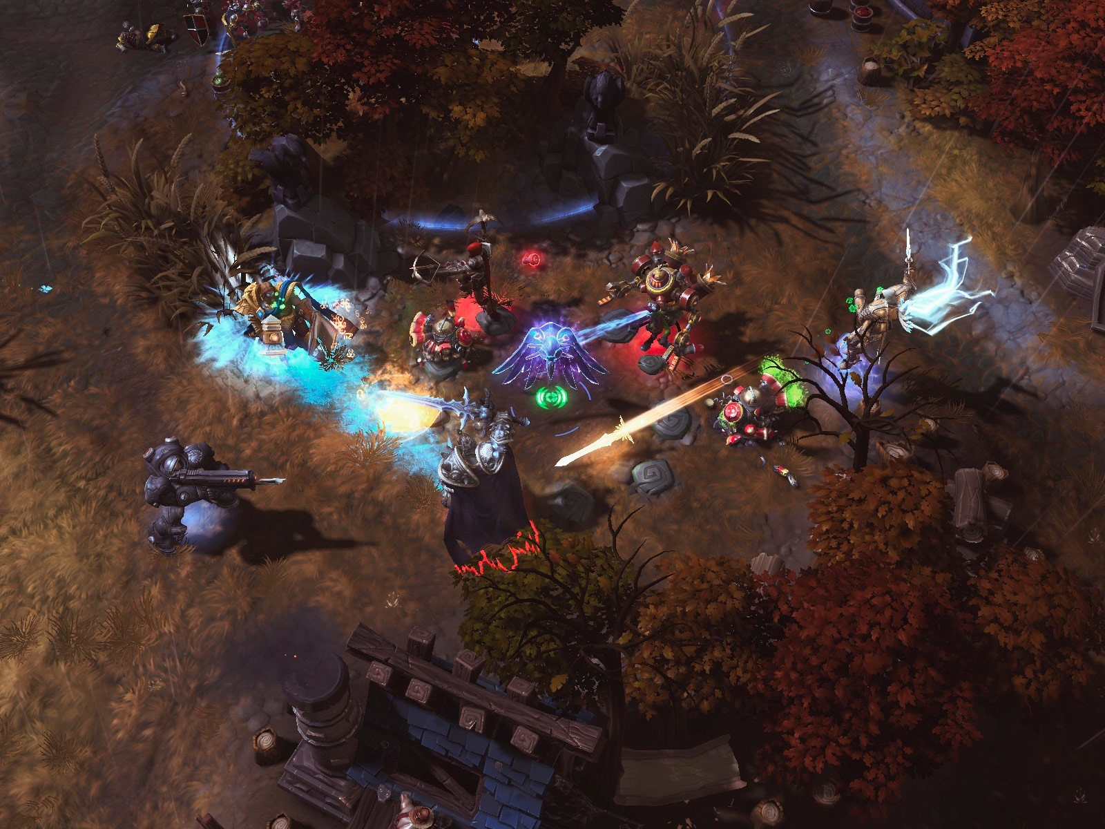 Heroes Of The Storm: Universes Collide In First Gameplay Trailer And Screenshots #29614