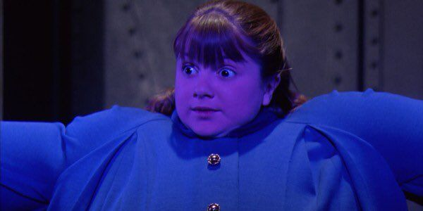 Denise Nickerson as Violet Beauregard in Willy Wonka and the Chocolate Factory