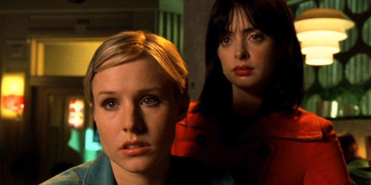 Kristen Bell and Krysten Ritter in Veronica Mars