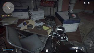 Warzone Prison bunker 1 code