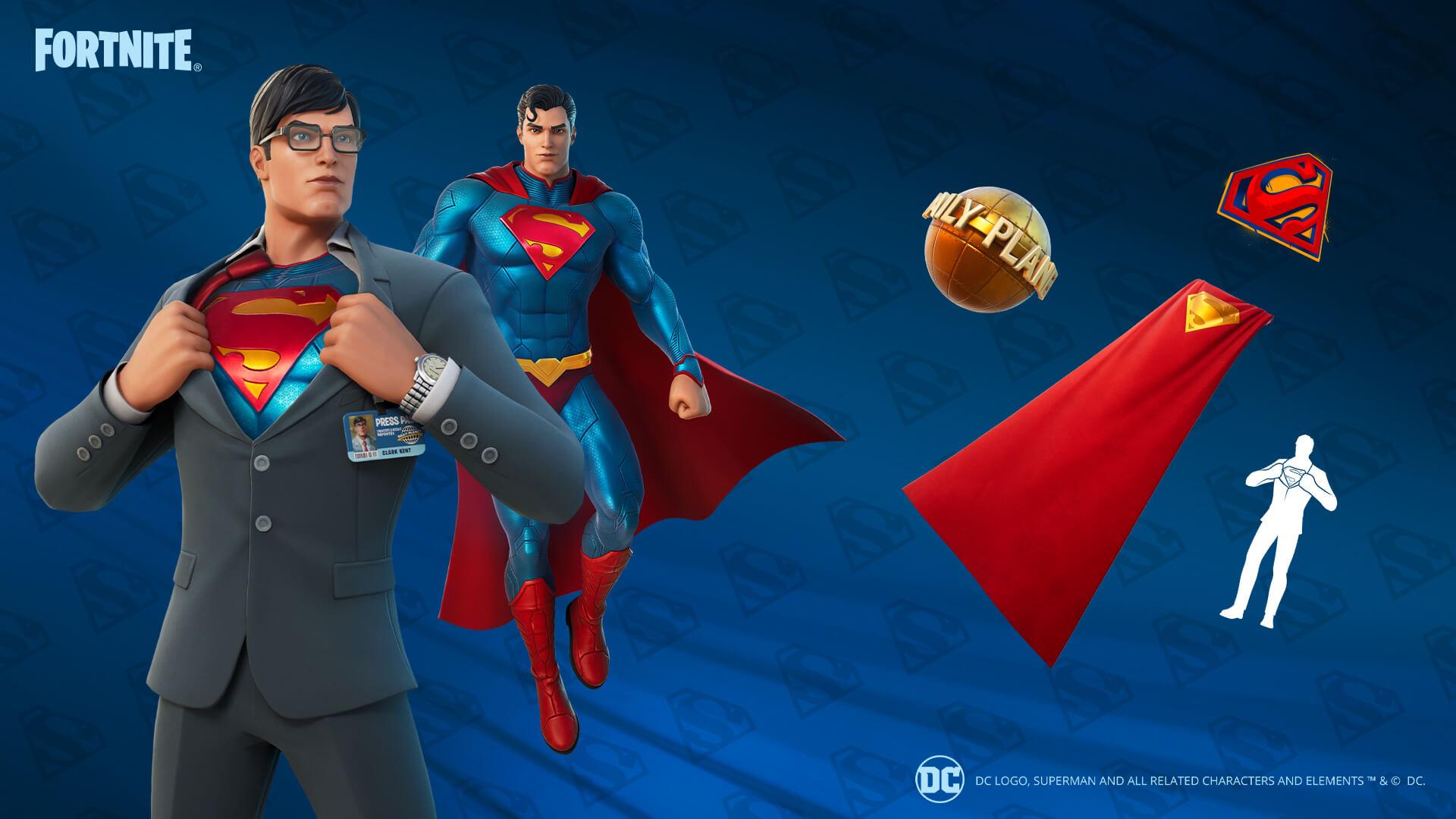 superman fortnite