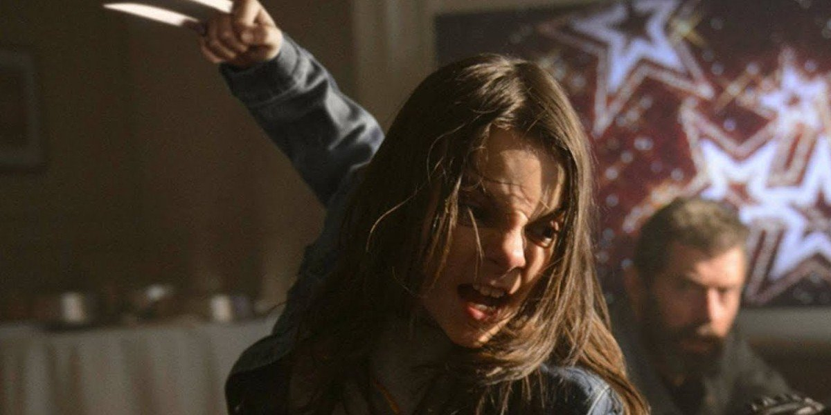 Dafne Keen as Laura/X-23 in Logan (2017)