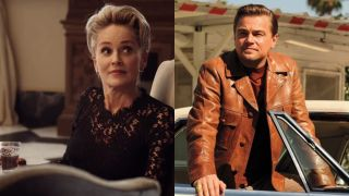 Sharon Stone and Leonardo DiCaprio
