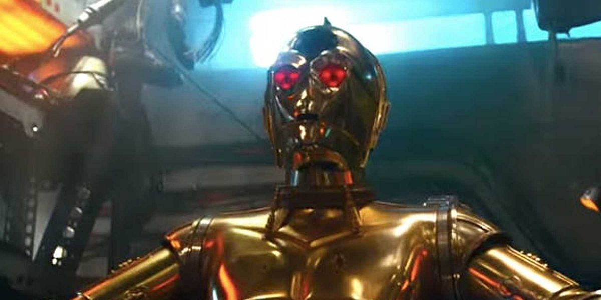 C3PO in Star Wars: The Rise of Skywalker