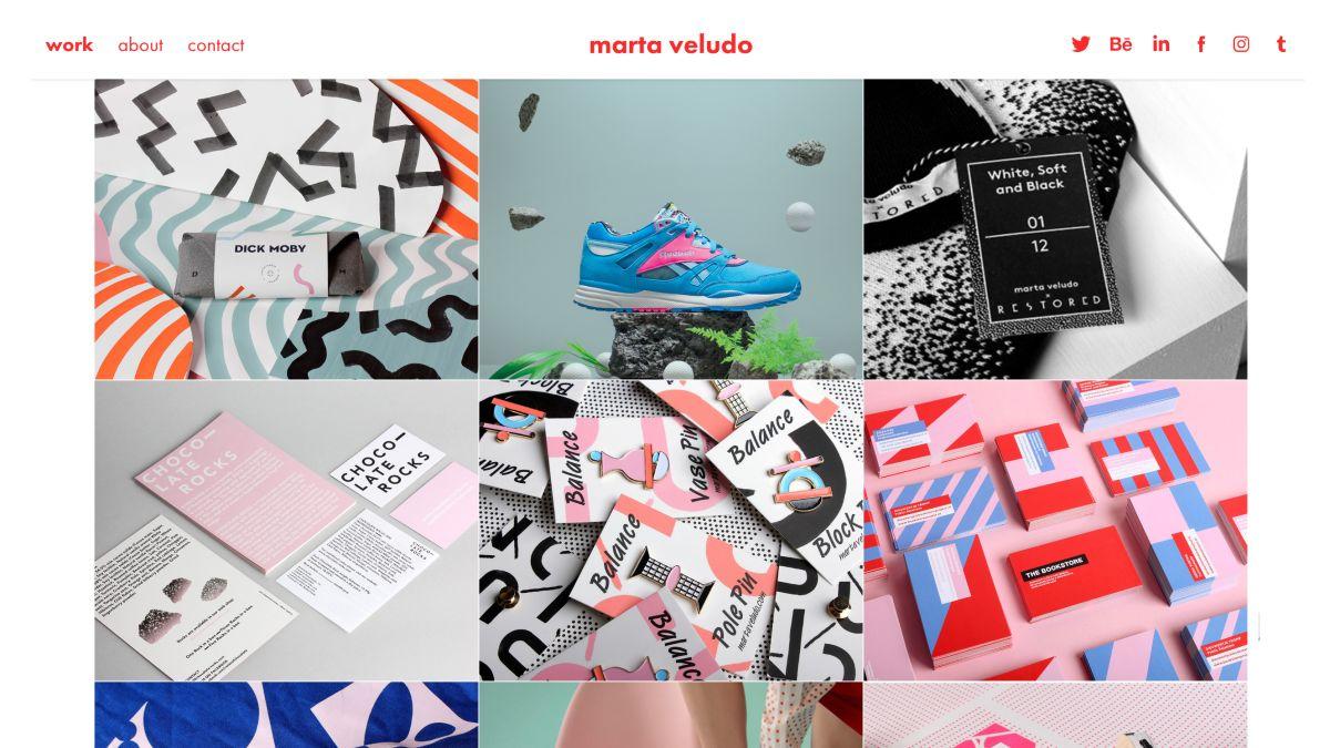 10 best portfolio templates for designers