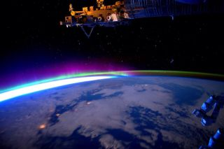 Earth from the ISS for World Photography Day