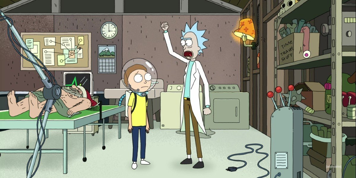 Rick and Morty Animated Series