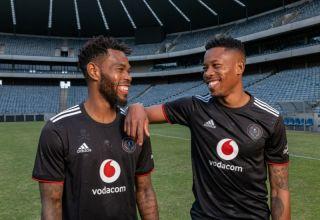 Orlando Pirates duo Thulani Hlatshwayo and Happy Jele