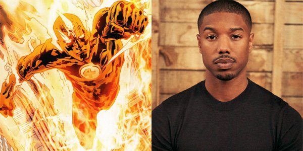 Johnny Storm Michael B. Jordan