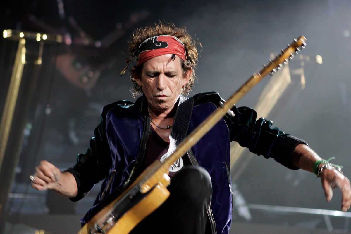 Hear Keith Richards' Isolated Guitar from 'Gimme Shelter'