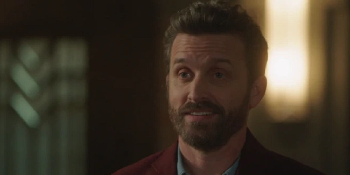 Rob Benedict as God in Supernatural